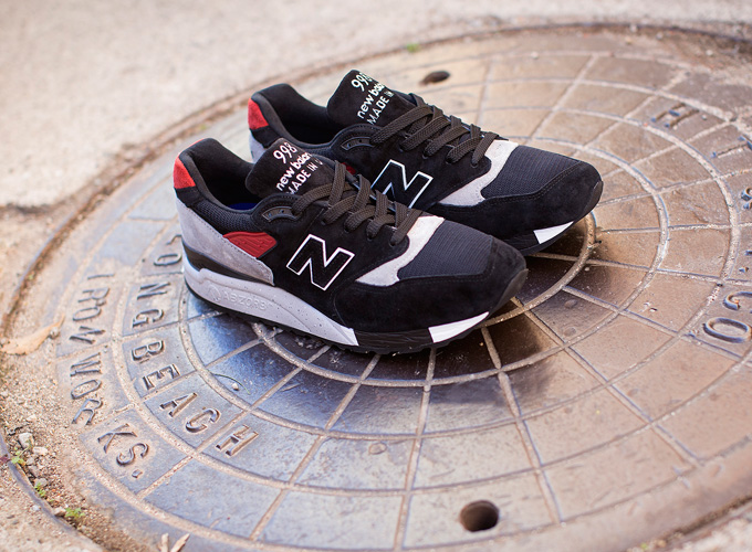 The NEW BALANCE NUMERIC BLACK SHEEP 598 brings two skate shops, from ...